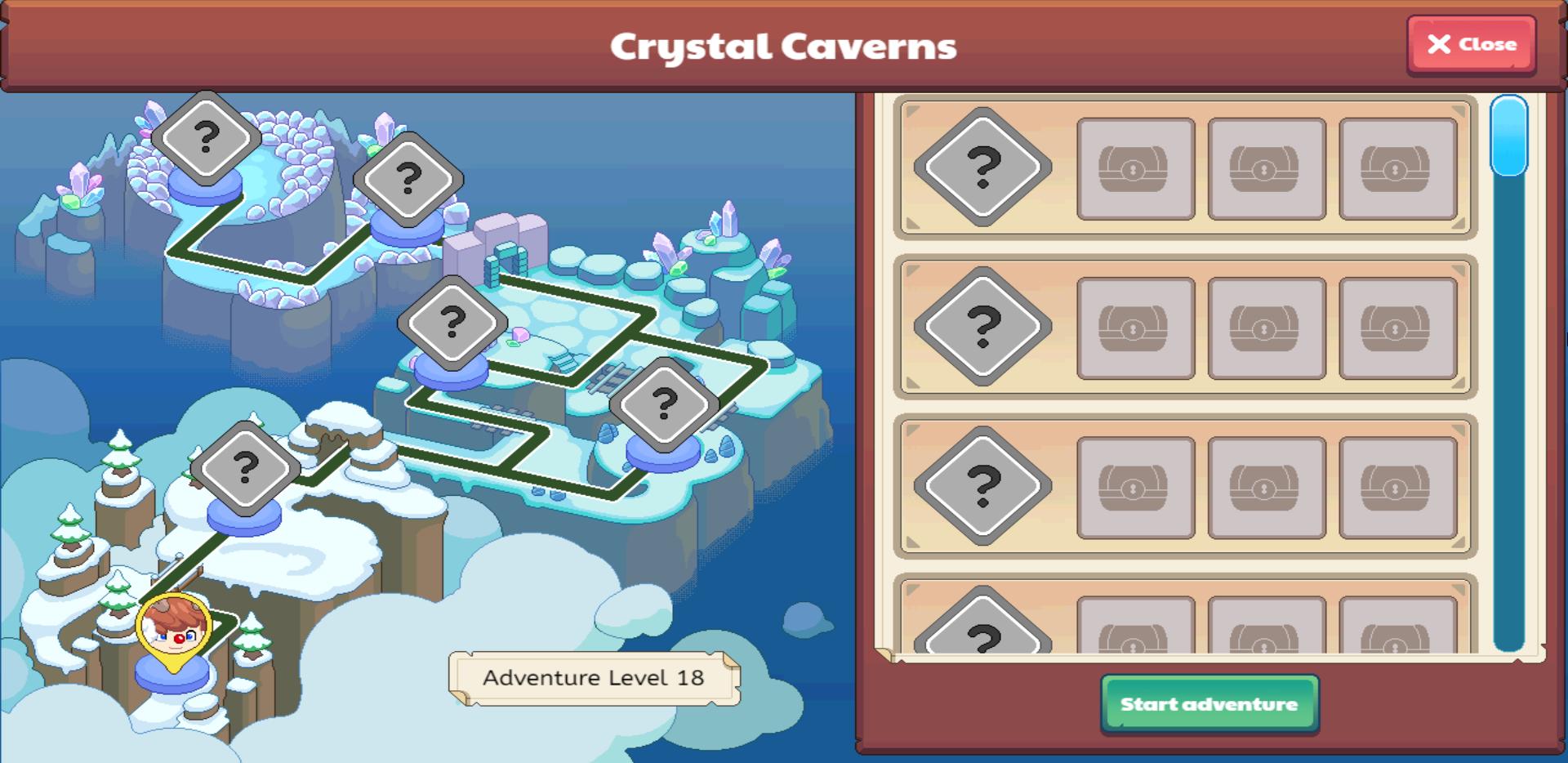 Crystal Caverns Prodigy